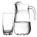 Ąsotis su stiklinėmis SYLVANA (kompl,7v)