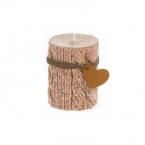"Žvakė ""Virvė"" ruda 6X8cm (vnt)"