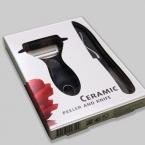 Keramikinis peilis ir skustuvas (kompl,2vnt)