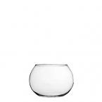 Apvali vaza FLORA (burbulas) (vnt)