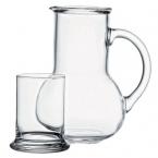 Ąsotis su stikline (kompl,2vnt)