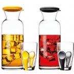 Ąsotis su stiklinėmis BREAKFAST CLUB (kompl,7v)