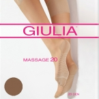Mot.puskojinės Giulia MASSAGE 20 (pora)