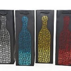 Dovanų maišelis buteliui 33x10cm (vnt)